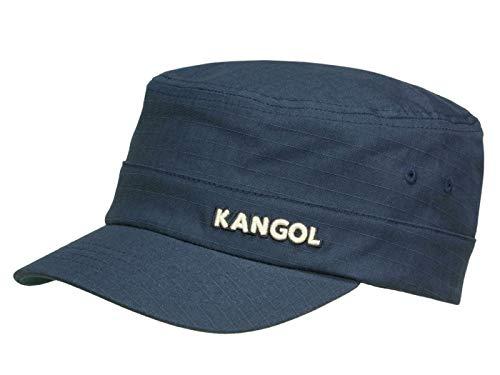 Kangol Ripstop Army Cap aus Baumwolle - Marine (NV411) - 56-58 cm (S/M)
