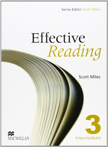 EFFECTIVE READING 3 Int Sts: Student Book Pre-intermediate