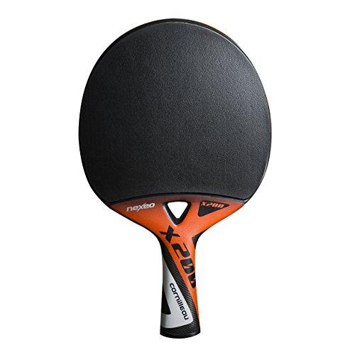 Cornilleau Unisex nexeo X200 Graphit Tischtennisschläger, Einheitsgröße