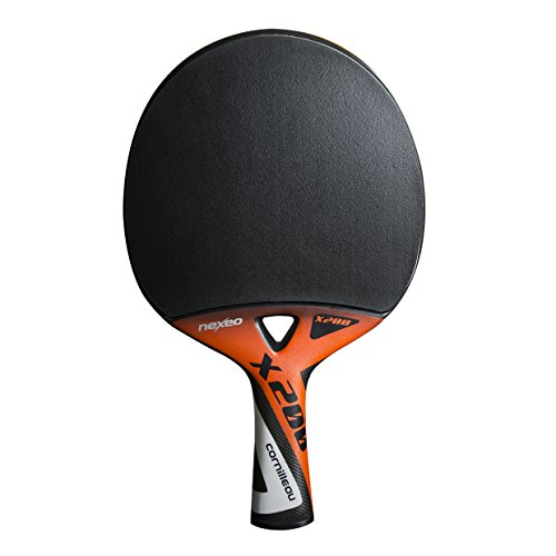 Cornilleau Nexeo X200 Graphite Raqueta, Unisex Adulto, Naranja, Talla Única