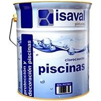 Isaval - Pintura piscina clorocaucho 5 K. azul