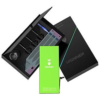 Hagnaven® Li-Polymer Akku für iPhone 6s Plus | LEISTUNGSSTÄRKSTER Ersatzakku mit 2850 mAh inkl. Werkzeug | Hochwertigste QUALITÄTSZELLEN und Beste AKKULAUFZEIT | Produktionsjahr 2018