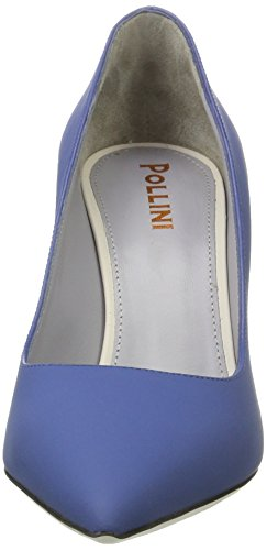 Pollini Damen Pc55 Pumps Blau (Denim)