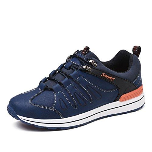 chaussures de randonnée Hommes respirante lumière le sport Derbies Automne Sneakers Bleu