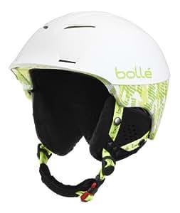 Bollé Synergy Casque Soft White/Green 54-58 cm