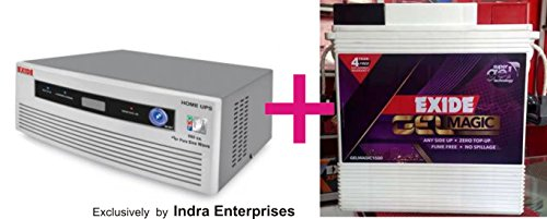 Exide 850va Home ups + Exide 150AH Battery - NO Maintenance - Just fit it and forgot it. Combo offer!!