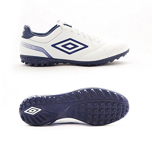 Umbro Umbro Classico 4Tf–Chaussures montantes pour hommes Blanco / Blueprint