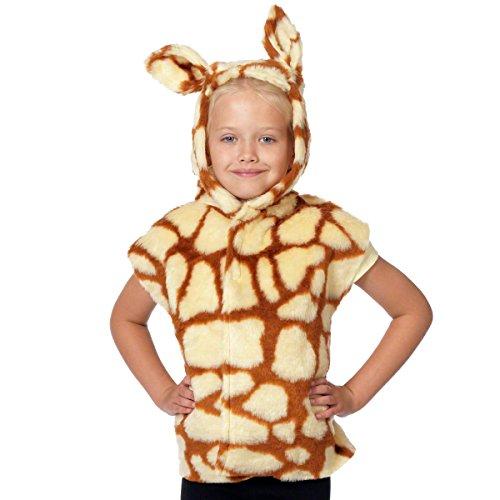 Unbekannt Charlie Crow Giraffe Kostüm Für Kinder - Einheitsgröße 3-8 ()