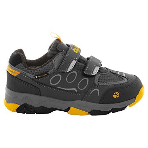Jack Wolfskin Unisex-Kinder Mtn Attack 2 Texapore Low Vc K Trekking-& Wanderhalbschuhe Burly Yellow