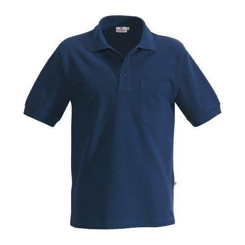 Hakro Pocket Polo Top, marine, XL (Pique Polo-shirt Pocket)