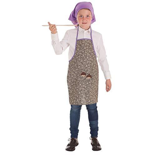 llopis Disfraz castañera Infantil 3-5 años