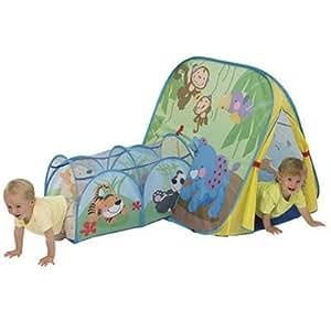logitoys jeu de plein air tente tunnel jeux et jouets. Black Bedroom Furniture Sets. Home Design Ideas