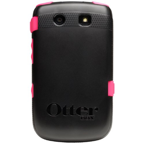OtterBox Commuter - Carcasa para BlackBerry Torch 9800, negro y rosa
