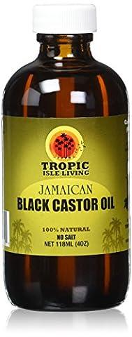 Jamaican Black Castor Oil 4 Ounce, Glass Bottle