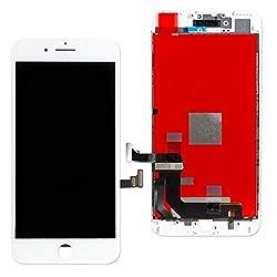 Maju Display kompatibel zu iPhone 6S Schwarz Weiß LCD Ersatzdisplay Digitizer Ersatz Screen Black white (Weiß, iPhone 6S)