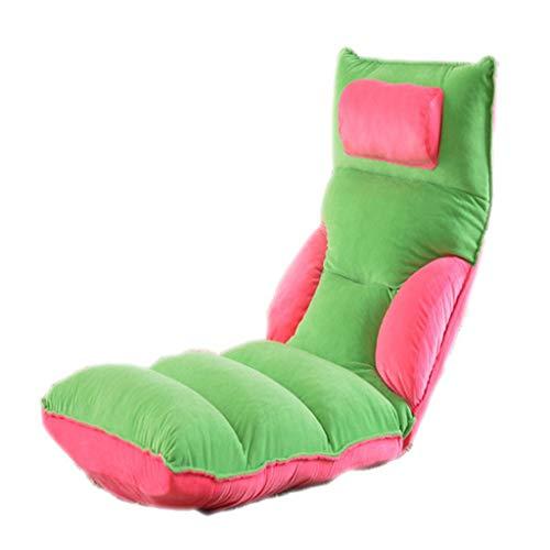 Posti a sedere cuscini, divano europeo e americano divano tatami, divano pigro (colore : green)