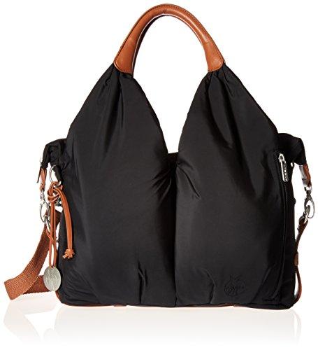 Lässig Glam Signature Bag Schultertasche, black (Mann Bag Wickeltasche)