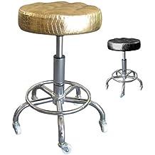 Polironeshop Fashion taburete para Studio, diseño de tatuajes esteticistas, masaje, pedicura, manicura estética cama de fisioterapia, masaje, arte de uñas, mesa silla