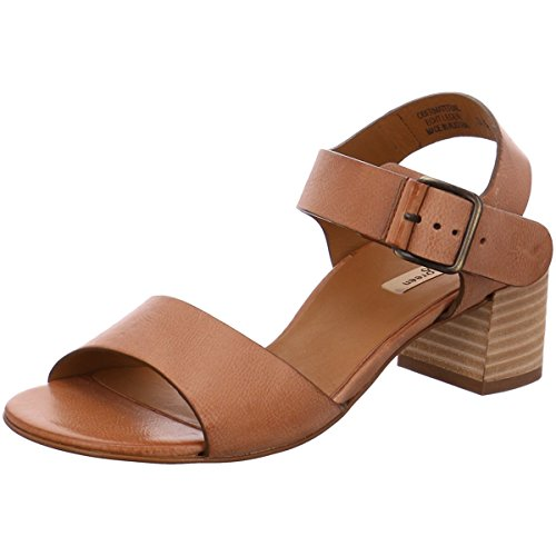 Bronze Metallic Kid Schuhe (Paul Green Damen Sandaletten 6607-104 braun 263077)