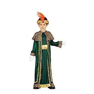 Guirca Disfraz de Rey Mago Baltasar para niño
