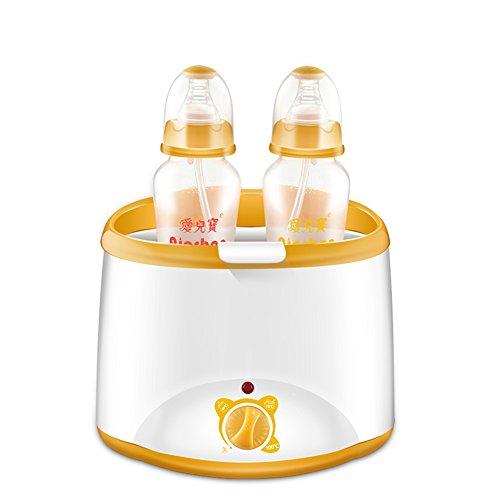 QFFL Schäumende Maschine intelligente konstante Temperatur warme Milch Gerät Desinfektor Combo doppelte Flasche wärmer automatische Heizung wärmer Hand pumpe