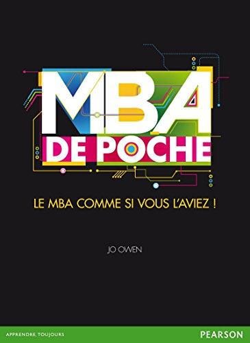 Livres gratuits MBA de poche: Le MBA comme si vous l'aviez pdf, epub