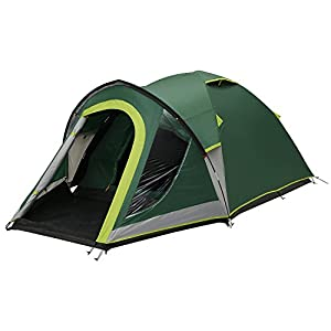 coleman unisex kobuk valley 4 plus tent, green/grey, one size