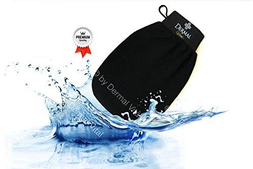 Original Deep Exfoliating Mitt Hammam Glove Peelinghandschuh Deluxe für ein sanftes und gründliches Peeling by Dermal Vital