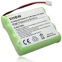 vhbw Batería NiMH 700mAh (4.8V) para babyphone, monitor de bebés Philips Avent SCD468, SCD481, SCD486 como MT700D04CX51.
