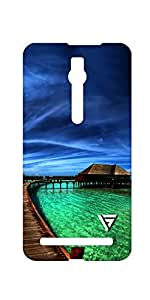 Vogueshell Nature Printed Symmetry PRO Series Hard Back Case for Asus Zenfone 2