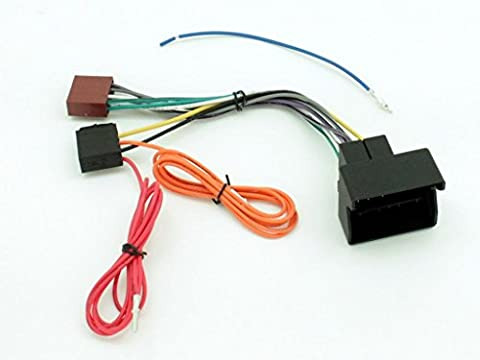 XtremeAuto® ISO Stereo Wiring adapter harness for SEAT/SKODA/VW with Quadlock (Fakra) antenna.