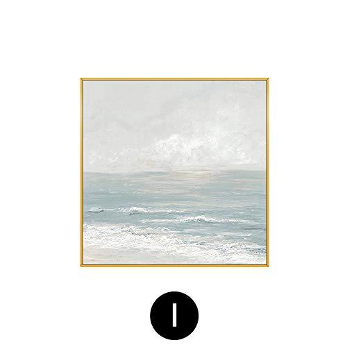 fengjiaren pittura ad olio dipinto a mano su tela,tranquillità in mare,per la casa parete decorazione arte pittura cafe bar salotto camera da letto