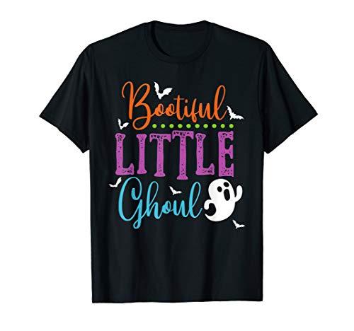 Kostüm Fun Familien Themen - Boo-tiful kleines Ghul-Halloween-Kostüm-Geist-Kinder T-Shirt