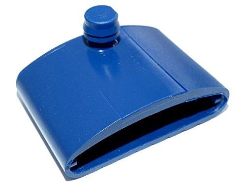 BOSSASHOP.de Kautschukkappen Wippe z.B. für Metallrahmen | Farbe: blau | 10er Paket (8x55mm)