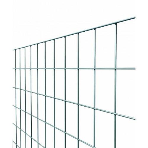 Rotolo mt.25 rete metallica elettrosaldata e zincata maglia mm.50x75 per recinzione edilizia - cm.150