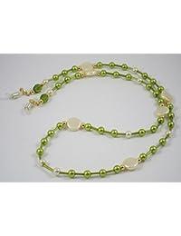 Gafas de sol/gafas de collar de perlas de vidrio de