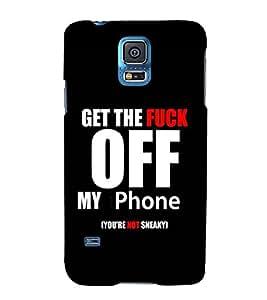 EagleHawk Designer 3D Printed Back Cover for Samsung Galaxy S5 - D502 :: Perfect Fit Designer Hard Case