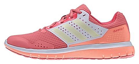 adidas Duramo 7W, Chaussures de Running Femme, Rouge (Super Blush/Dust Met/Shock Red), 38 EU
