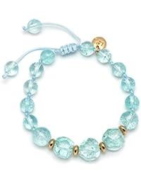 Lola Rose Cealy Ocean Blue Rock Crystal Bracelet of Length 22-30cm