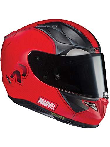 Casque Moto Hjc Marvel Rpha 11 Deadpool 2 Mc1sf Rouge (Xl, Rouge)