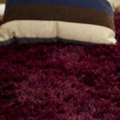 GRENSS 100 * 120 cm/39,37* 56.67 in Wolldecken werfen für Wohnzimmer weichen Moderne Teppiche und Teppichböden für Home Wohnzimmer, Burgund, 100 cm 120 cm (Werfen Burgund)