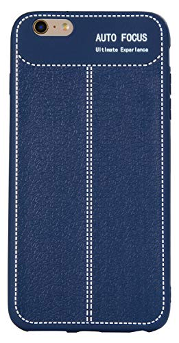 Bingran iphone 6s plus custodia ultra magro morbido elasticità silicone tpu [litchi texture] antigraffio goccia protezione case custodia per iphone 6 plus/6s plus 5.5