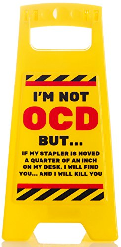 OCD - Desk Warning Signs