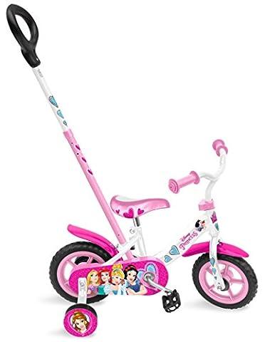 Stamp C887023CF - Vélo 10 Pouces Avec Canne - Princesses Disney
