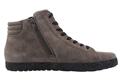 GABOR comfort - Damen High Top Sneaker - Grau Schuhe in Übergrößen Grau