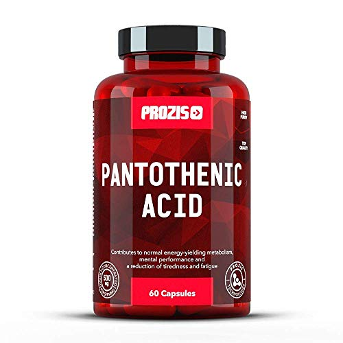 Prozis Acido Pantotenico Vitamina B5, 500 mg, 60 Capsule