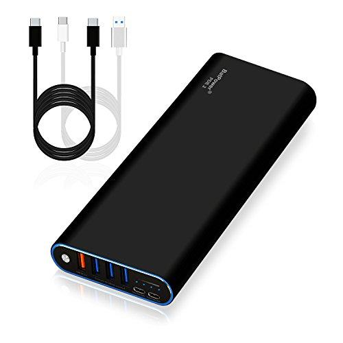 BatPower PDE 2 P60B USB-C Power Bank Cargador portátil Batería Externa para Apple Microsoft HP Lenovo DELL Razer ASUS LG Acer MSI Samsung PD USB C teléfono Inteligente Tableta portátil -210Wh