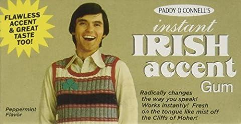 Instant Irish Accent Chewing Gum
