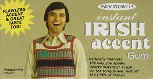 Instant Irish Accent Chewing Gum