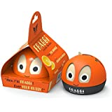 FRAGGi™ Premium Quality Air Freshener Car Perfume For Dashboard (Pranada: The Cheer, Orange, 80 g)